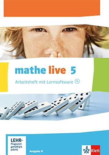 9783127205152: mathe live. Arbeitsheft mit Lösungsheft und Lernsoftware 5. Schuljahr. Ausgabe N