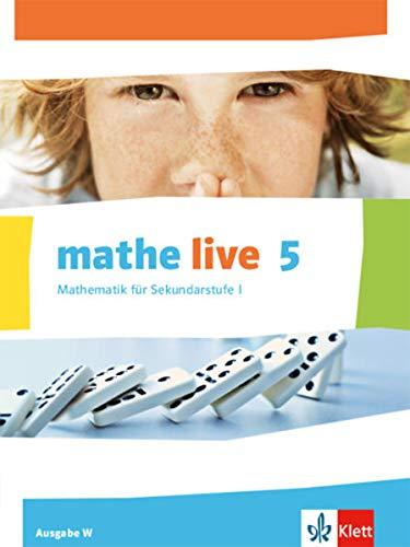 9783127206104: mathe live. Schülerbuch 5. Schuljahr. Ausgabe W