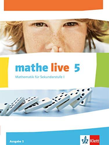 9783127207101: mathe live. Schülerbuch 5. Schuljahr. Ausgabe S