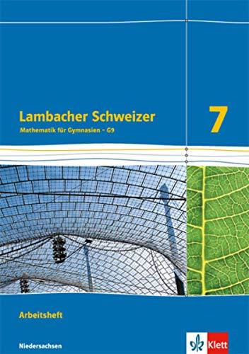9783127335262: Lambacher Schweizer - Ausgabe für Niedersachsen G9. Arbeitsheft plus Lösungsheft 7. Schuljahr
