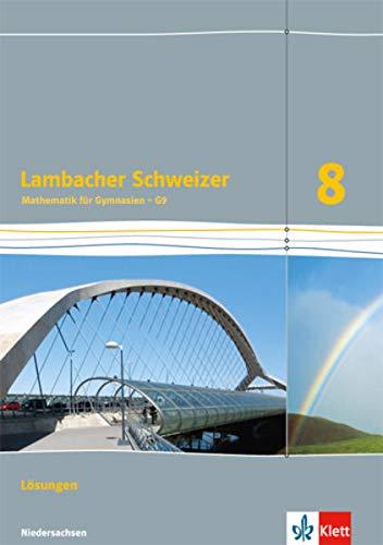 9783127335330: Lambacher Schweizer. L�sungen 8. Schuljahr. Niedersachsen G9