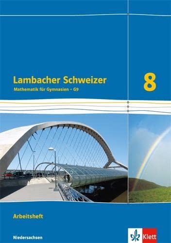 9783127335361: Lambacher Schweizer - Ausgabe für Niedersachsen G9 / Arbeitsheft plus Lösungsheft 8. Schuljahr