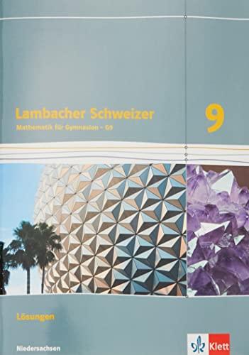 9783127335439: Lambacher Schweizer. Lösungen 9. Schuljahr. Niedersachsen G9