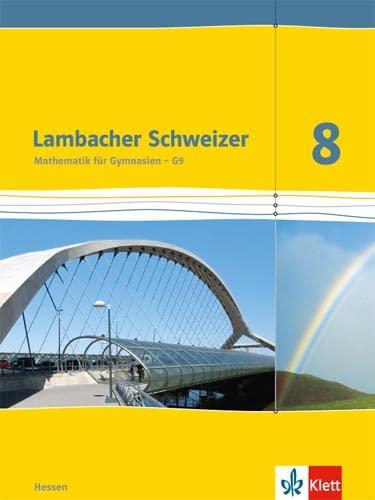 9783127337211: Lambacher Schweizer. Schülerbuch 8. Schuljahr. Ausgabe für Hessen G9