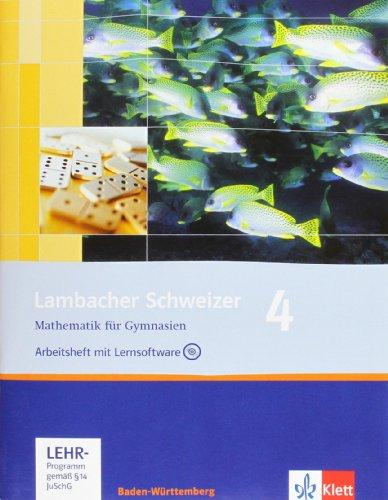 9783127343885: Lambacher Schweizer. 8. Schuljahr. Arbeitsheft plus Lösungsheft und Lernsoftware. Baden-Württemberg: Arbeitsheft plus Lösungsheft und Lernsoftware