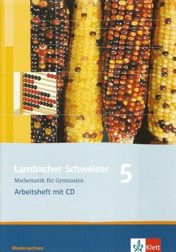 9783127345551: Lambacher Schweizer. LS Mathematik 5. Arbeitsheft mit CD-ROM. Neubearbeitung. Niedersachsen