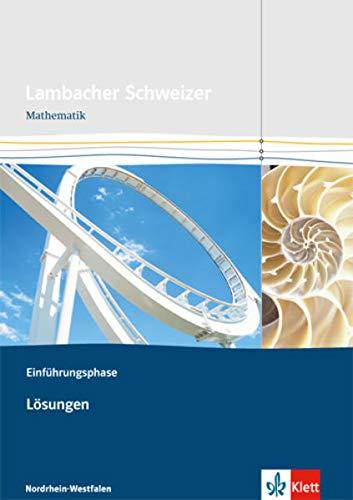 9783127354331: Lambacher Schweizer. Einführungsphase. Lösungen. Nordrhein-Westfalen