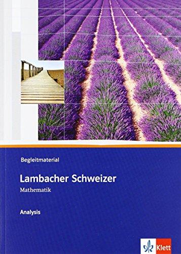 9783127357127: Lambacher Schweizer Analysis. Begleitmaterial mit CD-ROM