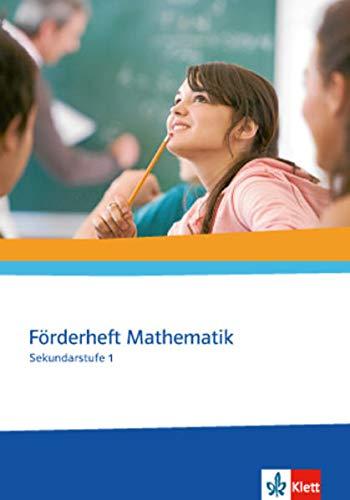 9783127403404: Förderheft Mathematik. Sekundarstufe I