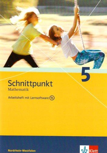 9783127404586: Schnittpunkt Mathematik - Neubearbeitung 5. Schuljahr. Ausgabe Nordrhein-Westfalen: Arbeitsheft plus Lösungsheft und Lernsoftware