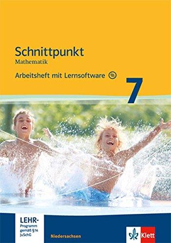 9783127421651: Schnittpunkt Mathematik - Ausgabe f�r Niedersachsen. Arbeitsheft mit L�sungsheft und Lernsoftware 7. Schuljahr - Mittleres Niveau