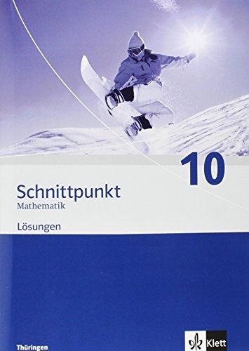9783127422047: Schnittpunkt Mathematik - Ausgabe für Thüringen. Lösungen 9. Schuljahr