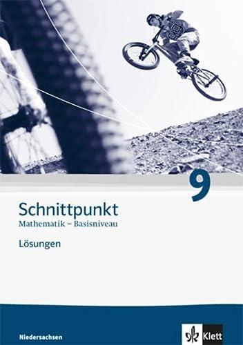 9783127422498: Schnittpunkt Mathematik - Ausgabe für Niedersachsen. Lösungen 9. Schuljahr - Basisniveau