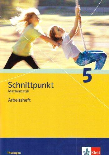 9783127422559: Schnittpunkt Mathematik  5. Schuljahr. Arbeitsheft plus Lösungsheft. Ausgabe für Thüringen