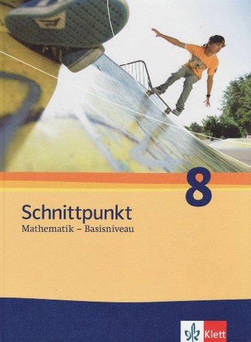 9783127423211: Schnittpunkt - Ausgabe für Schleswig-Holstein. Neubearbeitung. Schülerbuch Basisniveau 8. Schuljahr