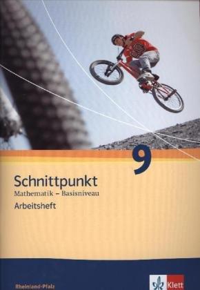 9783127426359: Schnittpunkt Mathematik - Ausgabe für Rheinland-Pfalz. Neubearbeitung. Arbeitsheft plus Lösungsheft Basisniveau 9. Schuljahr