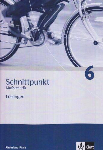 9783127426632: Schnittpunkt 6. Mathematik. Lösungen. Rheinland-Pfalz: Mathematik für Realschulen