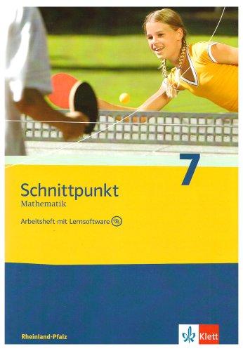 9783127426779: Schnittpunkt. Mathematik. Arbeitsheft mit CD-ROM. Rheinland-Pfalz: Mathematik f�r Realschulen