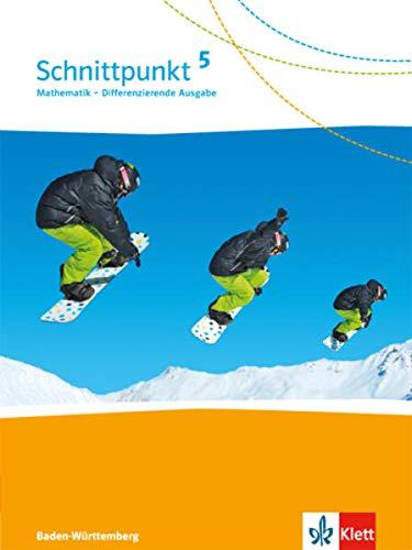 9783127443516: Schnittpunkt Mathematik - Differenzierende Ausgabe für Baden-Württemberg / Schülerbuch 5. Schuljahr
