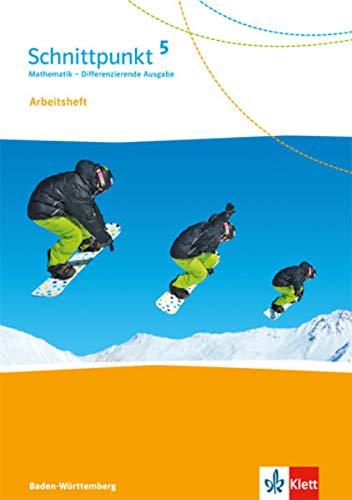 9783127443561: Schnittpunkt Mathematik - Differenzierende Ausgabe für Baden-Württemberg / Arbeitsheft mit Lösungsheft 5. Schuljahr