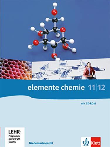 9783127561234: Elemente Chemie. G8. Schülerbuch 11./12. Klasse. Ausgabe Niedersachsen