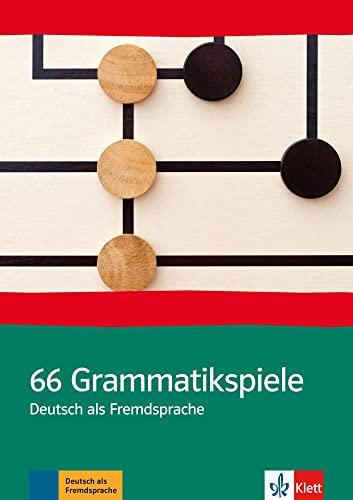 9783127688108: 66 Grammatik- Spiele. Deutsch als Fremdsprache. (Lernmaterialien)