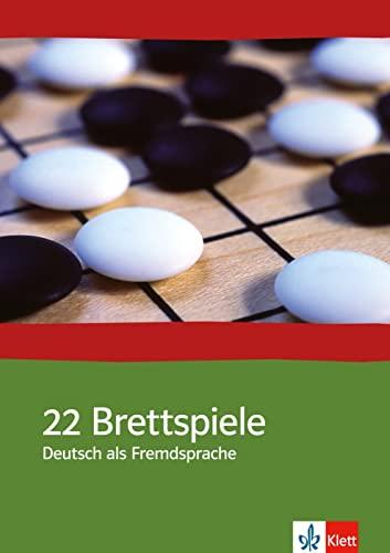 9783127688122: 22 Brettspiele. Deutsch als Fremdsprache