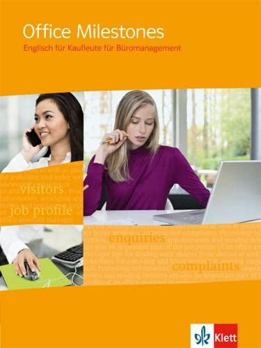 9783128000749: Office Milestones. Schülerbuch: Englisch für Büroberufe