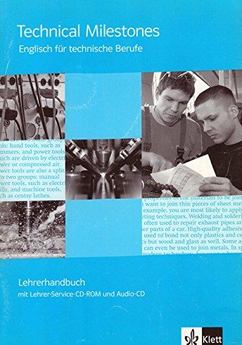 9783128010410: Technical Milestones. Lehrerhandbuch + Audio-CD + Service-CD-ROM