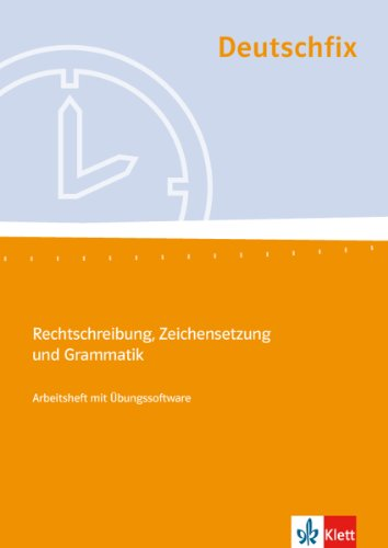 9783128038025: Deutschfix: Schulerheft 2 MIT CD-Rom (German Edition)