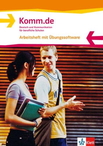 9783128040134: Komm.de. Arbeitsheft + CD-ROM, Allgemeine Ausgabe: Deutsch und Kommunikation für berufliche Schulen