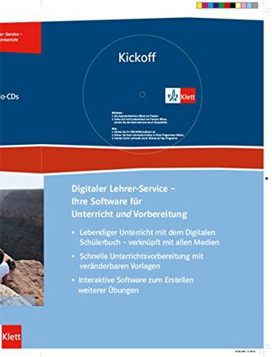 9783128083056: Kickoff Upgrade. Englisch zum Realschulabschluss. Lehrerhandbuch mit 2 Audio-CDs und DVD-ROM