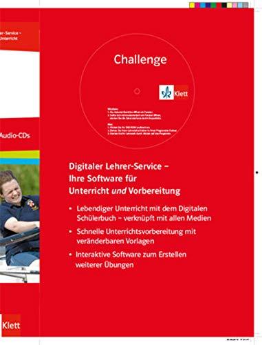 9783128092126: Challenge. Lehrerhandbuch + Medien-DVD + 3 Lehrer-Audio-CDs: Englisch für berufliche Gymnasien
