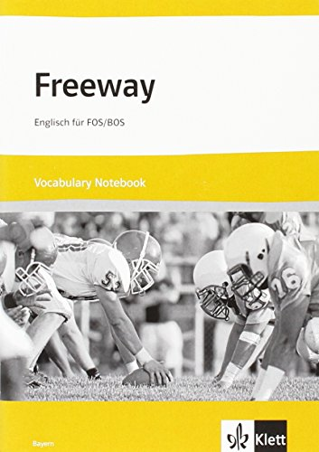 9783128092270: Freeway Bayern. Vocabulary Notebook