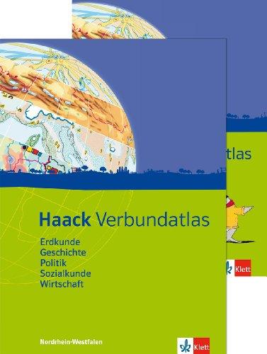 9783128283135: Haack Verbundatlas. Mit Arbeitsheft Kartenlesen. Sekundarstufe I. Ausgabe für Nordrhein-Westfalen