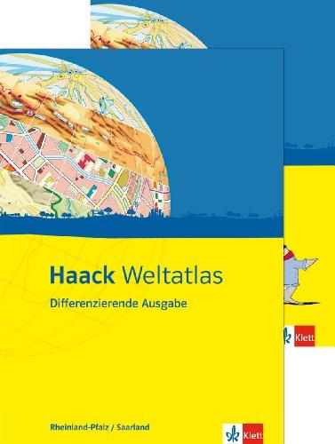 9783128283753: Haack Weltatlas Differenzierende Ausgabe. Ausgabe für Rheinland-Pfalz und Saarland. Mit Arbeitsheft Kartenlesen mit Atlasführerschein