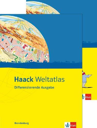 9783128283784: Haack Weltatlas Differenzierende Ausgabe. Ausgabe für Brandenburg: Mit Arbeitsheft Kartenlesen