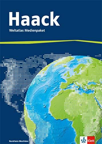 9783128286303: Der Haack Weltatlas - Ausgabe Nordrhein-Westfalen: Weltatlas Medienpaket (inkl. Übungssoftware auf CD-ROM und Arbeitsheft Kartenlesen mit Atlasführerschein)