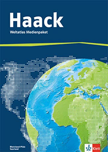 9783128286709: Der Haack Weltatlas - Ausgabe Rheinland-Pfalz und Saarland: Weltatlas Medienpaket (inkl. Übungssoftware auf CD-ROM und Arbeitsheft Kartenlesen mit Atlasführerschein)