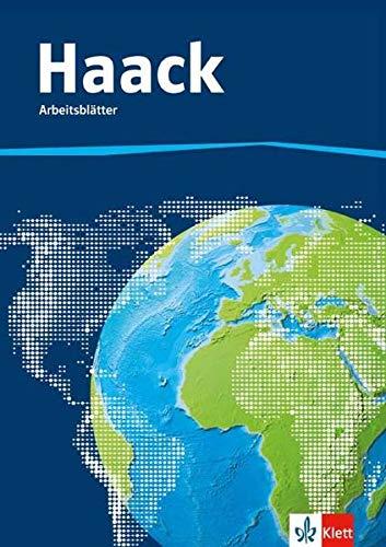 Der Haack Weltatlas. Kopiervorlagen Arbeitsblätter Kartenarbeit mit