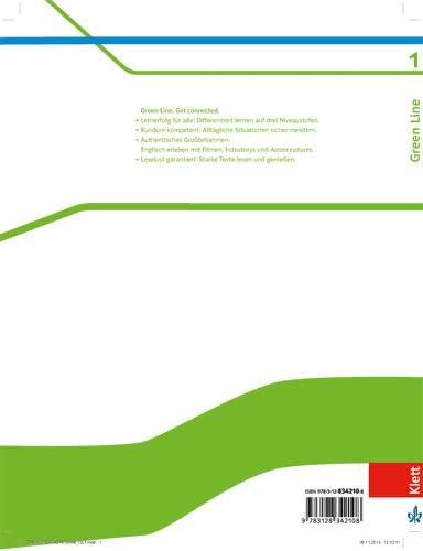 9783128342108: Green Line 1. Schülerbuch. Neue Ausgabe