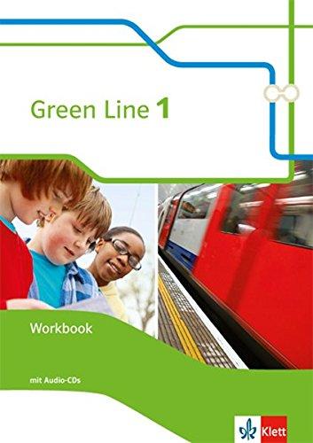 9783128342153: Green Line 1. Workbook mit Audio-CD 5. Klasse