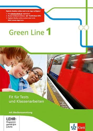 9783128342177: Green Line 1. Fit für Tests und Klassenarbeiten mit Lösungsheft und CD-ROM 5. Klasse