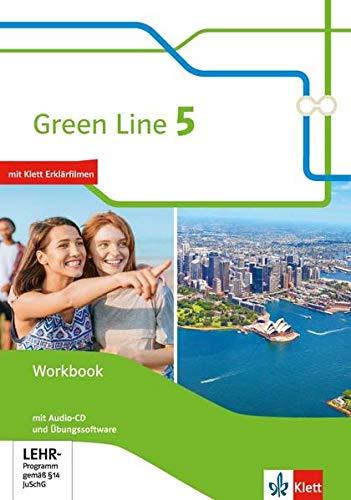 9783128342580: Green Line. Workbook mit Audio-CDs und Übungssoftware 9. Klasse: Workbook mit Audio-CDs und Übungssoftware Klasse 9