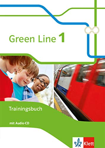 9783128343013: Green Line 1. Das Trainingsbuch mit Audio-CD 5. Klasse
