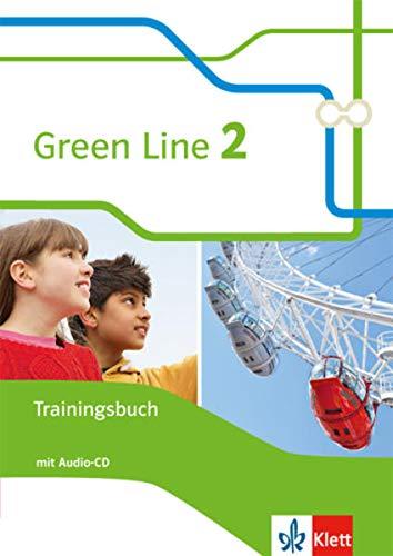9783128343020: Green Line 2. Trainingsbuch mit Audio CD. Neue Ausgabe
