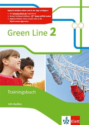 9783128343020: Green Line 2. Trainingsbuch mit Audio-CD 6. Klasse