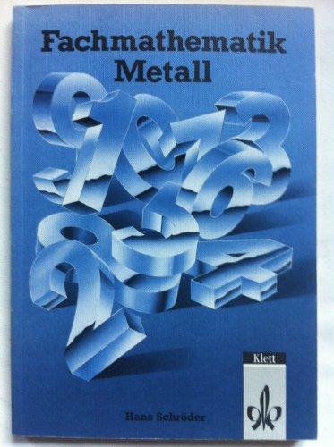9783128408002: Fachmathematik Metall