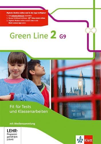 9783128542270: Green Line 2 G9. Fit für Tests und Klassenarbeiten mit Lösungsheft und CD-ROM. Neue Ausgabe