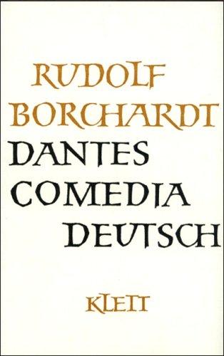 9783129012901: Gesammelte Werke, 14 Bde., Dantes Commedia Deutsch